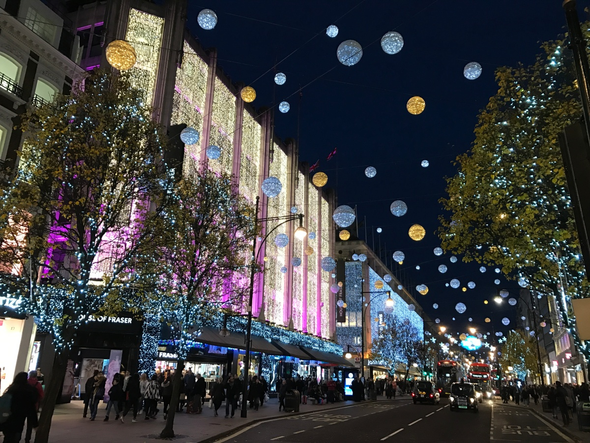 5 Christmassy things to do in London