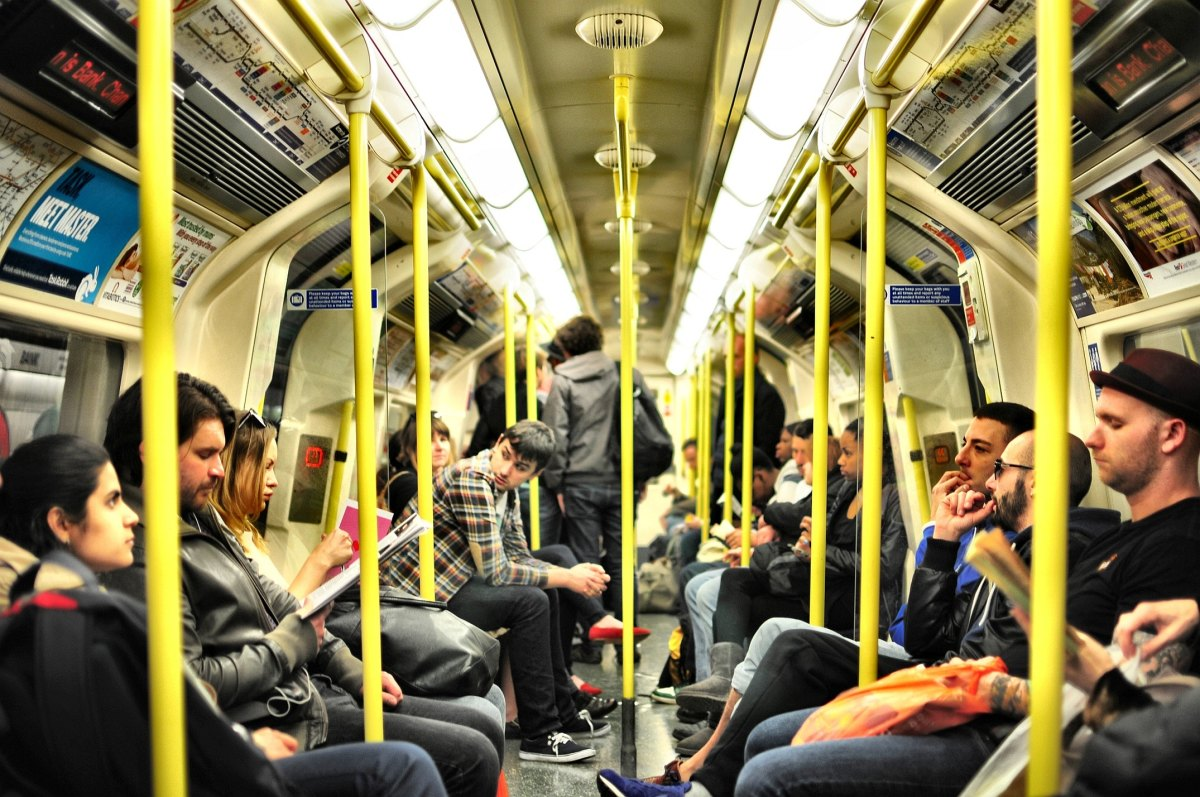 How to get a seat on the London Underground